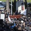 Pino Daniele, funerali Roma: lungo applauso accoglie feretro in chiesa 09