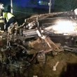 Roncade Far West: bancomat esplode, inseguimento, auto esce. 2 rapinatori morti2