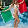 Valentina Bonariva, la concorrente italiana a Miami per Miss Universo 03