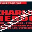 Charlie Hebdo, stampa francese listata a lutto03