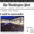 Charlie Hebdo, stampa francese listata a lutto11