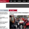 Charlie Hebdo, stampa francese listata a lutto10
