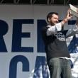 Matteo Salvini a Roma: diretta VIDEO manifestazione Lega Nord