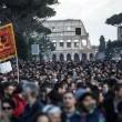 """Lega, a Roma anche manifestazione centri sociali: """"Mai con Salvini"""" FOTO 2"""