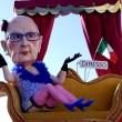 Carnevale Viareggio: Merkel burlesque 06