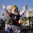 Carnevale Viareggio: Merkel burlesque 01