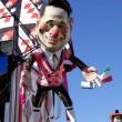 Carnevale Viareggio: Merkel burlesque 04
