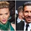 Scarlett Johansson capelli come Diego Simeone FOTO