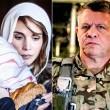 Rania con famiglia pilota, re Abdallah in tenuta militare