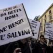 """Lega, a Roma anche manifestazione centri sociali: """"Mai con Salvini"""" FOTO 6"""