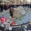 Ultras Feyenoord, Barcaccia di piazza di Spagna devastata a Roma FOTO 34