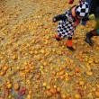Carnevale Ivrea, la battaglie delle arance03