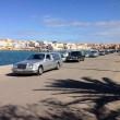 Lampedusa, migranti morti nel Canale di Sicilia: carri funebri in fila02