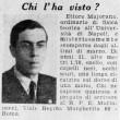 """Ettore Majorana, scomparso nel 1938. """"Nel 1959 era vivo e in Venezuela""""4"""