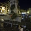 Roma, scontri tra tifosi del Feyenoord e la polizia a Campo de' Fiori FOTO 11