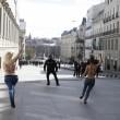 Spagna, Femen protestano a seno nudo contro la legge sulla sicurezza FOTO03