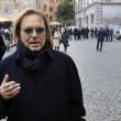 Monica Scattini, amici e colleghi ai funerali: Verdone, Pannofino, Brunetti01