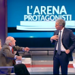 Massimo Giletti litiga con Mario Capanna e scaraventa libro a terra03