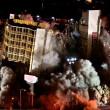 Las Vegas, la spettacolare demolizione dell'Hotel Clarion23