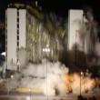 Las Vegas, la spettacolare demolizione dell'Hotel Clarion4