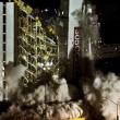 Las Vegas, la spettacolare demolizione dell'Hotel Clarion22
