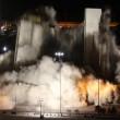 Las Vegas, la spettacolare demolizione dell'Hotel Clarion18