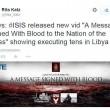 """Isis minaccia Italia. Video 21 copti decapitati in Libia: """"Siamo a Sud di Roma"""" 06"""