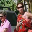 Julia Roberts con la madre (foto Lapresse)