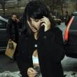 Kim Kardashian super-scollata e sexy malgrado il gelo di New York15