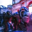 Roma, anti-Salvini bloccano piazzale Flaminio03