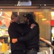 Massimo Ceccherini ubriaco, allontanato da polizia01