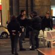 Massimo Ceccherini ubriaco, allontanato da polizia012