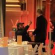 Massimo Ceccherini ubriaco, allontanato da polizia06