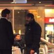 Massimo Ceccherini ubriaco, allontanato da polizia019