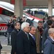 Presidente Mattarella arriva a Firenze in treno, poi va a Scandicci in tram 11