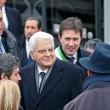Presidente Mattarella arriva a Firenze in treno, poi va a Scandicci in tram 12