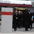 Presidente Mattarella arriva a Firenze in treno, poi va a Scandicci in tram 03
