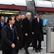 Presidente Mattarella arriva a Firenze in treno, poi va a Scandicci in tram 05