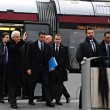 Presidente Mattarella arriva a Firenze in treno, poi va a Scandicci in tram 06