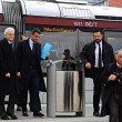Presidente Mattarella arriva a Firenze in treno, poi va a Scandicci in tram 08