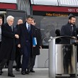 Presidente Mattarella arriva a Firenze in treno, poi va a Scandicci in tram 09