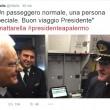 La foto pubblicata su Twitter da Alitalia