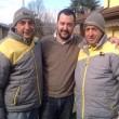 """Matteo Salvini, foto con Graziano Stacchio su Fb: """"Giù mani da chi si difende"""" 2"""