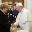 Angela Merkel da Papa Francesco. Poi alla Comunità di Sant'Egidio FOTO
