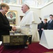 Angela Merkel da Papa Francesco. Poi alla Comunità di Sant'Egidio FOTO 2
