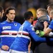 Samp-Genoa, Sinisa Mihajlovic prende Regini per il collo a fine partita VIDEO5