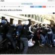 Roma-Feyenoord, ultras devastano03