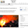 Roma-Feyenoord, ultras devastano08
