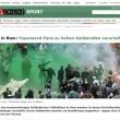 Roma-Feyenoord, ultras devastano07