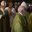 Roma, Papa Francesco visita campo porfughi e parrocchia a Pietralata